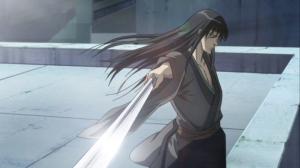 The ol' wrist sword trick!